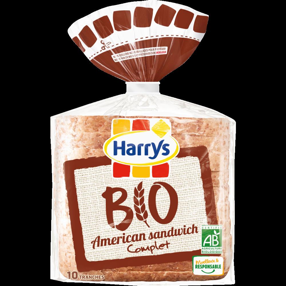 American sandwich complet BIO, Harry's (400 g)