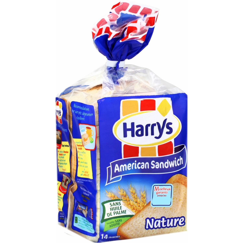 American Sandwich Nature, Harry's (550 g)