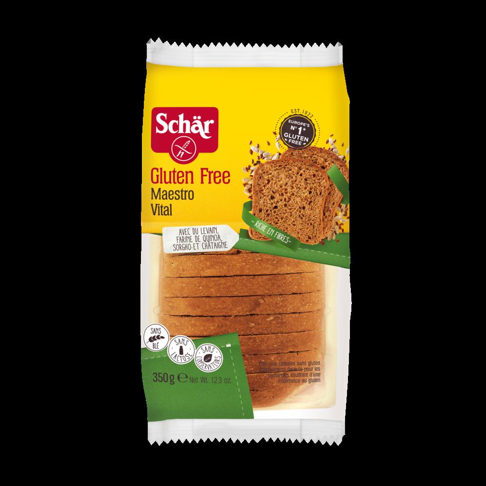 Pain frais maestro vital aux céréales, Schär (350 g)