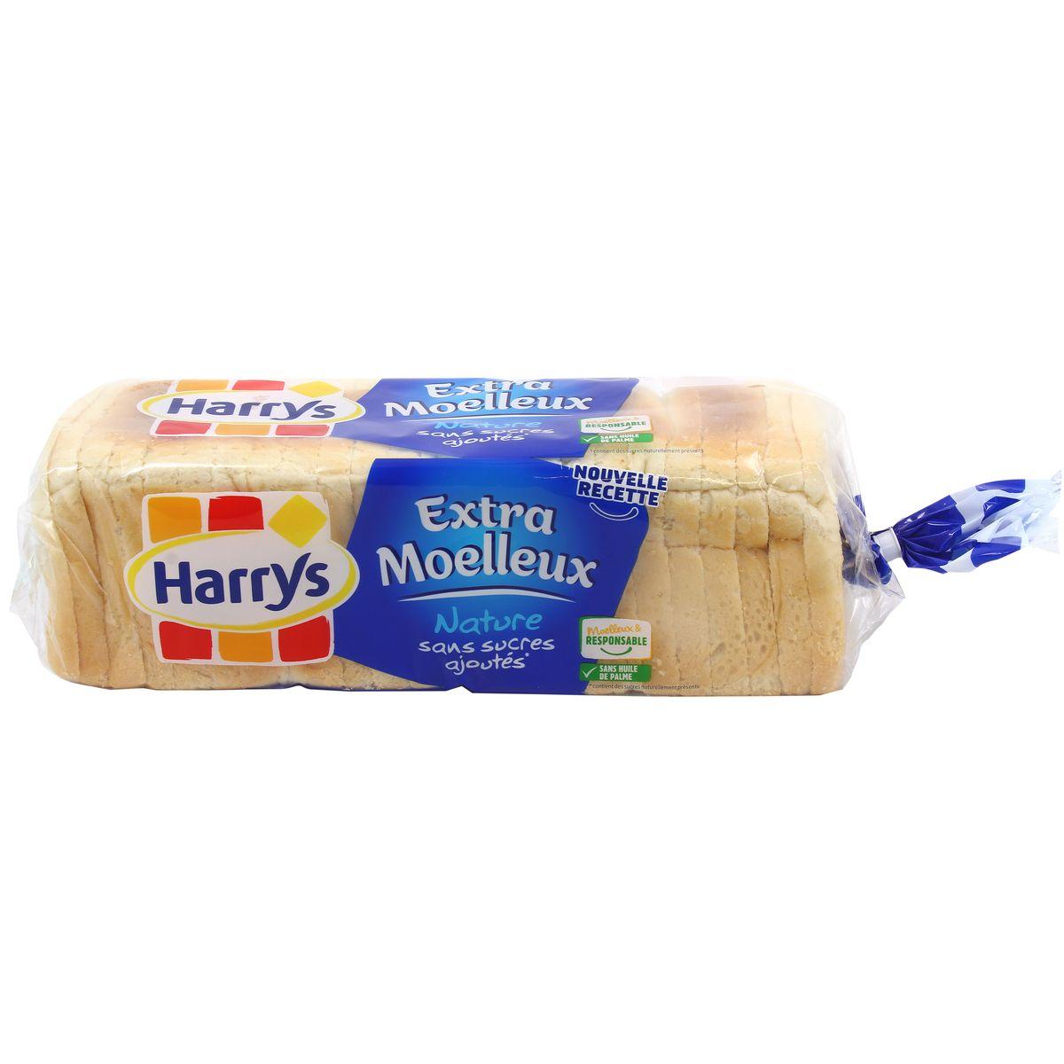 Pain de mie extra moelleux sans sucre, Harry's (500 g)