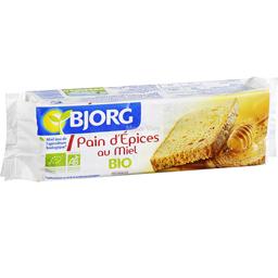 Pain d'épices au miel BIO, Bjorg (20 tranches, 300 g)