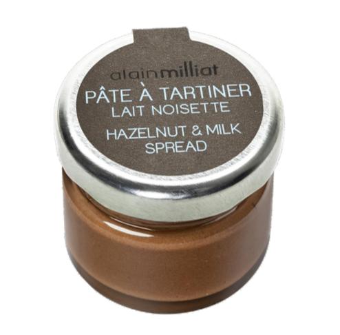 Pâte à tartiner Lait Noisette, Alain Milliat (30 g)