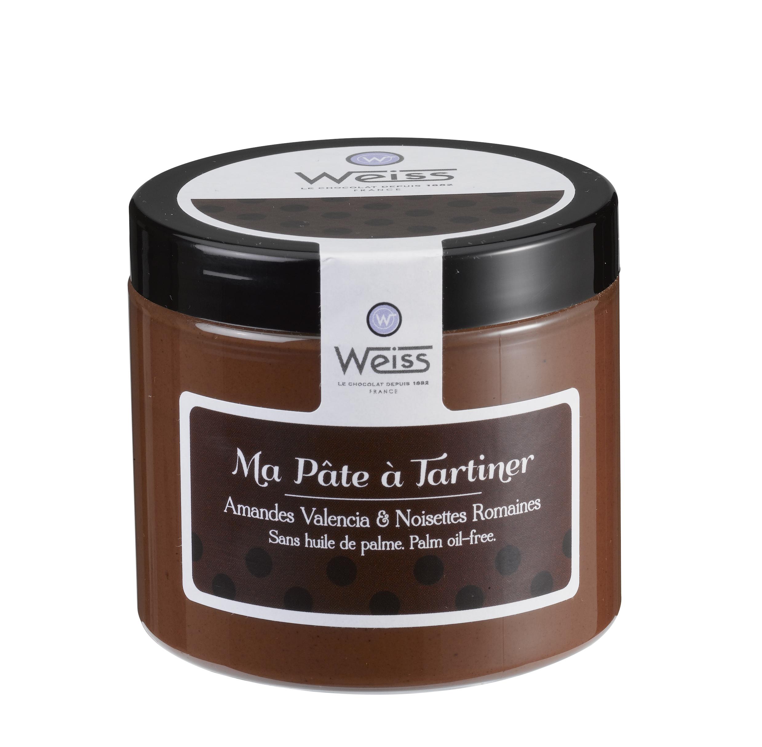 Pâte à tartiner lisse, Weiss (200 g)