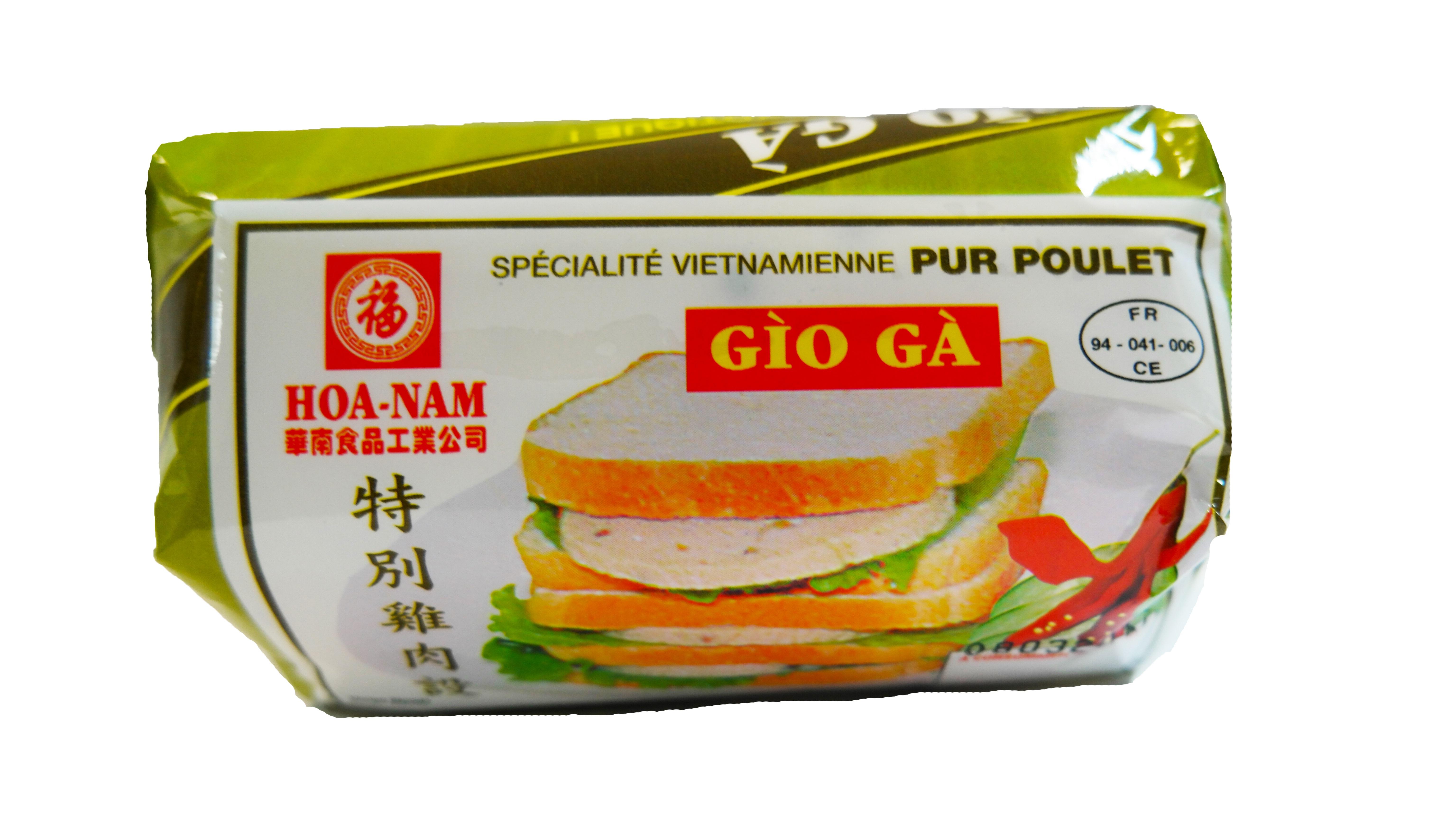 Pâté vietnamien au poulet Gio Ga, Hoanam (500 g)