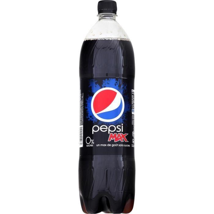 Pepsi Max sans sucre (1.5 L)