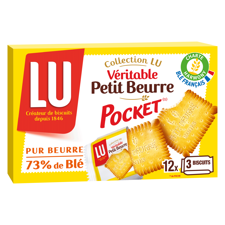 Petit beurre pocket, Lu (300 g)