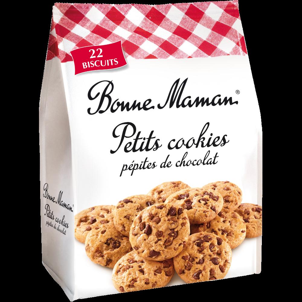 Petits cookies pépites de chocolat, Bonne Maman (250 g)