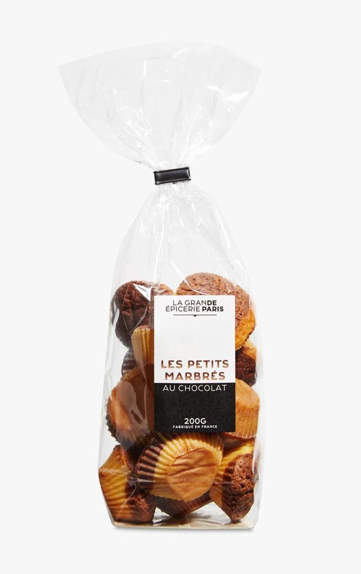 Petits fours marbrés au chocolat, La Grande Epicerie de Paris (200 g)