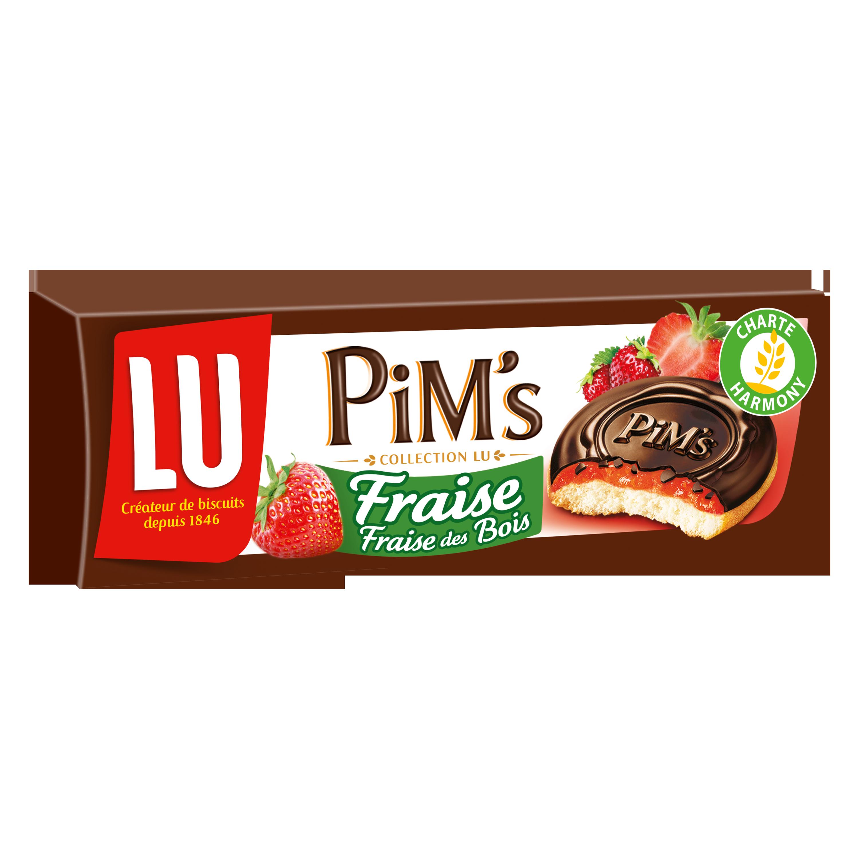 Pim's fraise & fraise des bois, Lu (150 g)