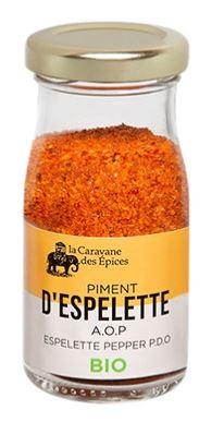 Piment d'Espelette A.O.P. BIO, Albert Ménès (40 g)