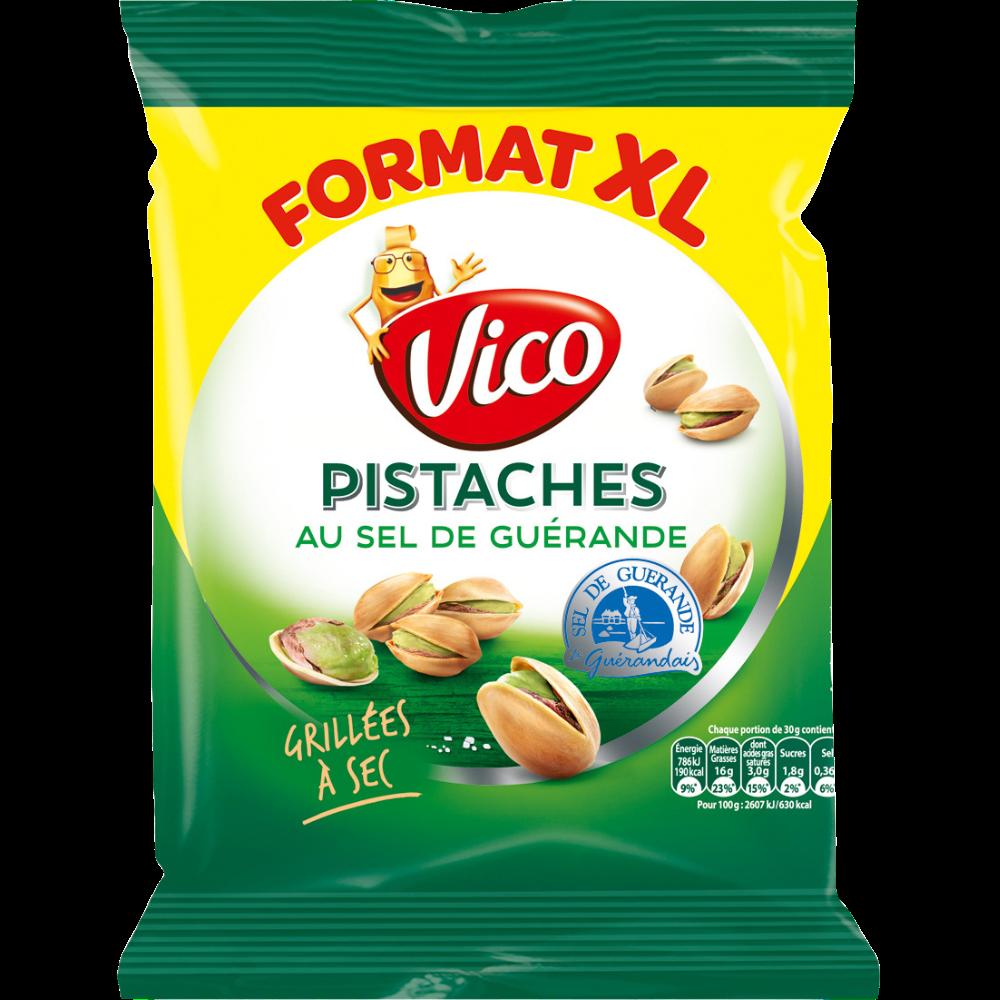 Pistaches au sel de Guérande, Vico (230 g)