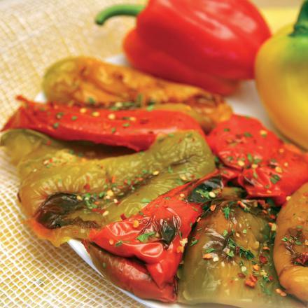 Poivrons grillés à l'huile (120 g)