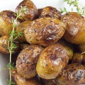 Pommes de terres rôties (450 g - pour 2, 3 personnes)