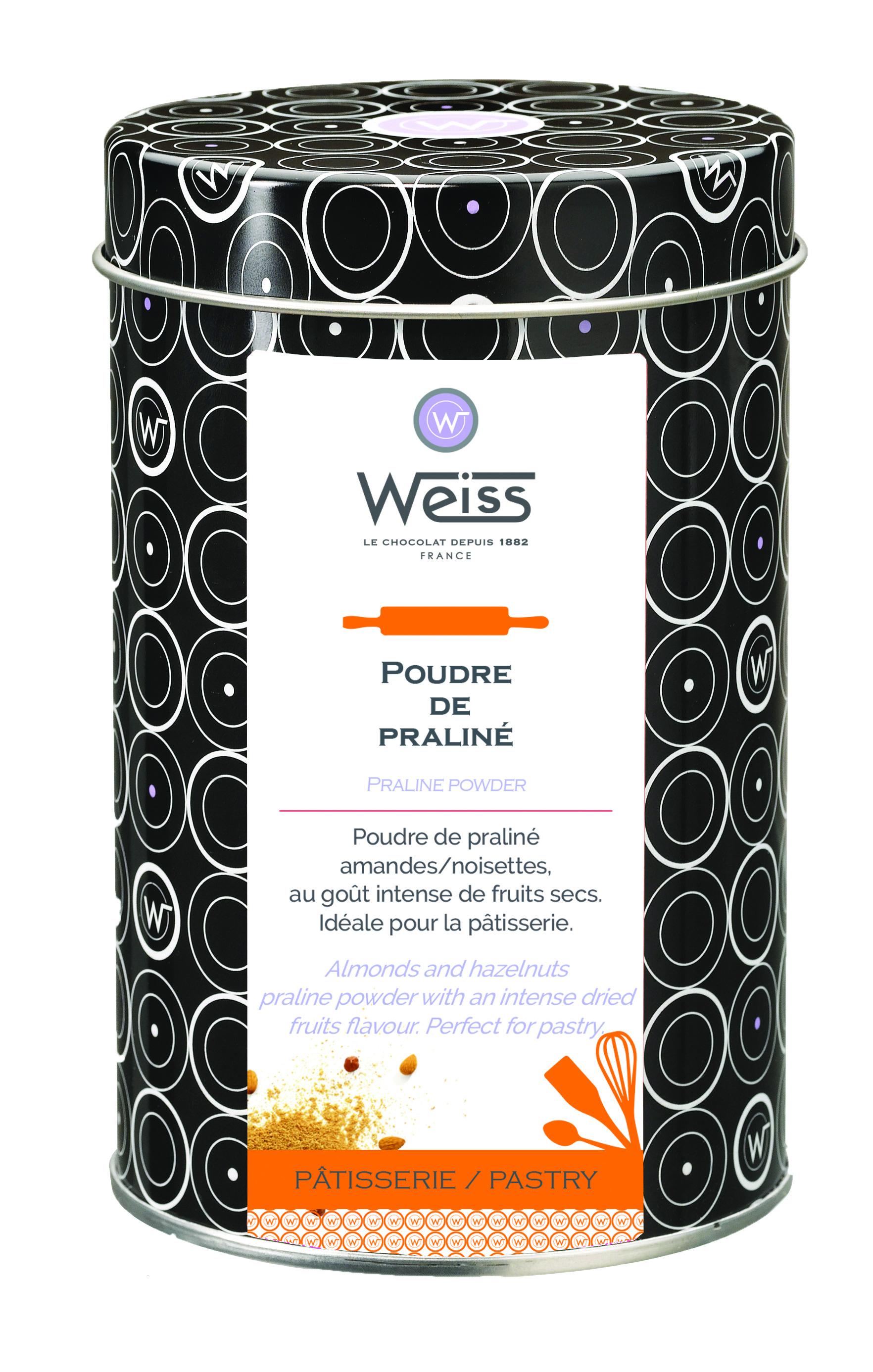 Poudre de praliné, Weiss (300 g)