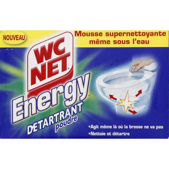 Poudre active détartrante, WC Net Energy (x 6 sachets)