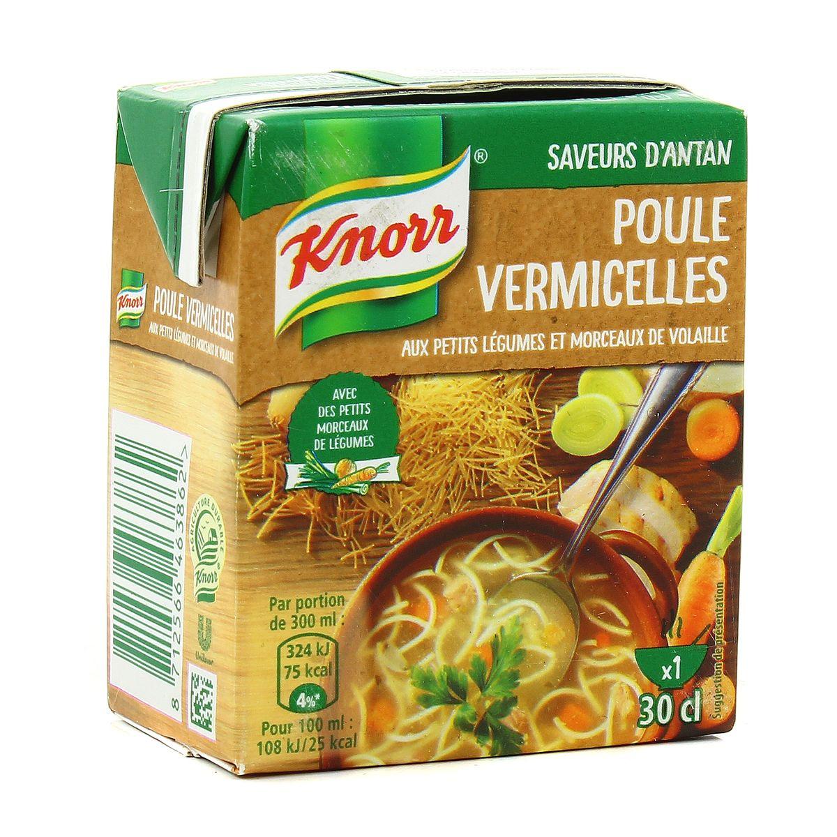 Poule vermicelle, Knorr (30 cl)
