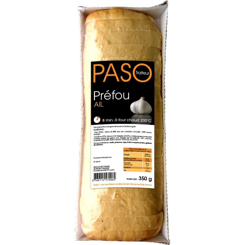 Préfou à l'ail pré tranché, Paso (350 g)