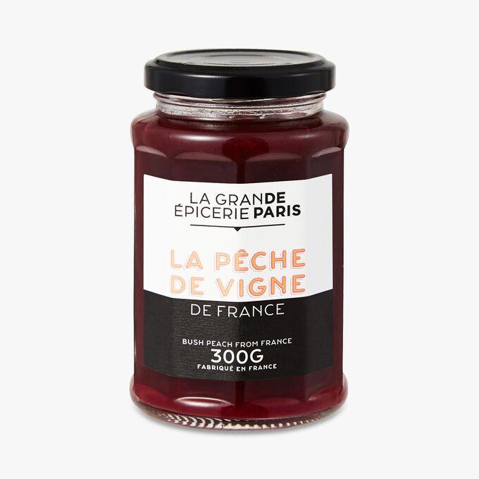 Confiture de pêche de vigne, La Grande Epicerie de Paris (300 g)