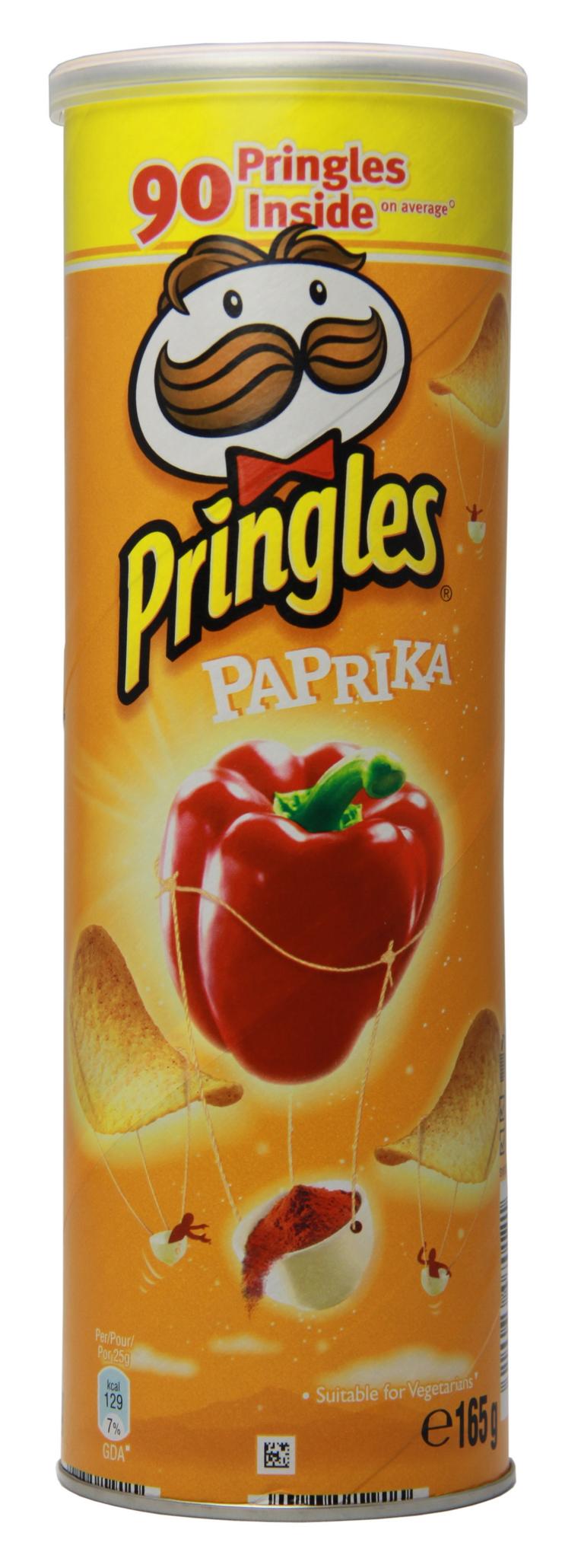 Chips Pringles Paprika (165 g)