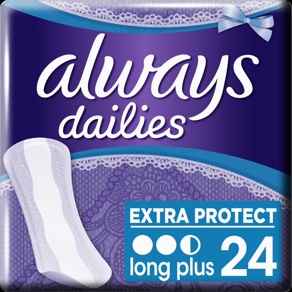 Protèges slip Long Plus, Always (x 24)