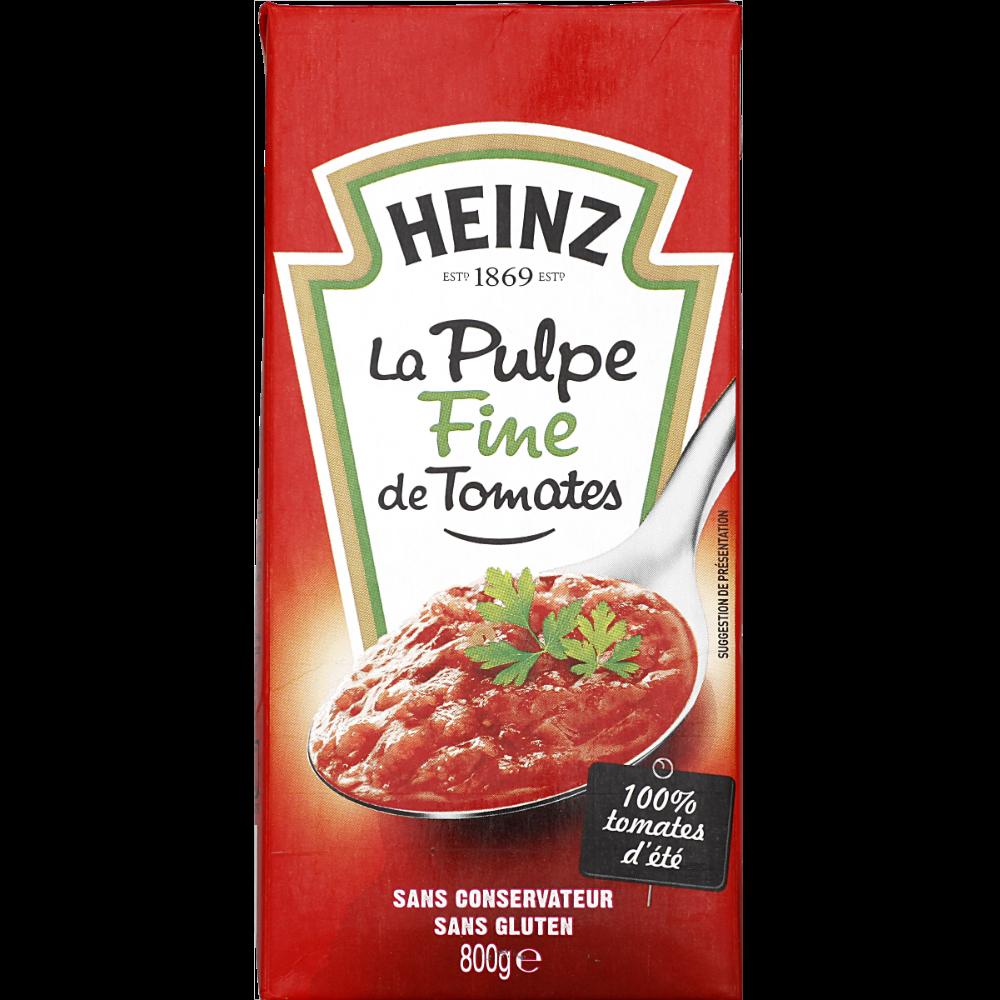 Pulpe de tomates, Heinz (800 g)