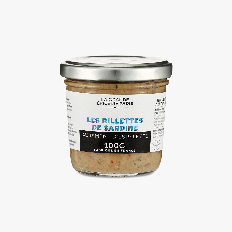 Rillettes de sardines au piment d'Espelette, La Grande Epicerie de Paris (100 g)