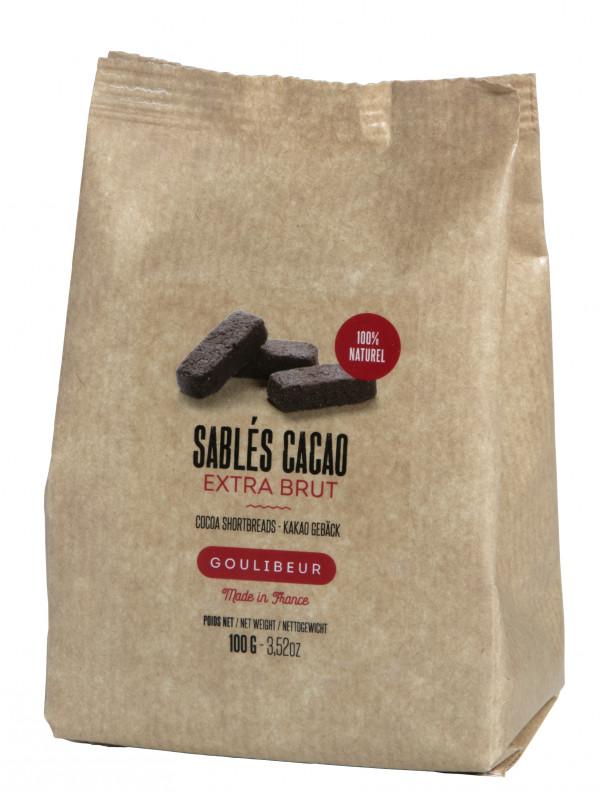 Sablés au cacao, Goulibeur (100 g)