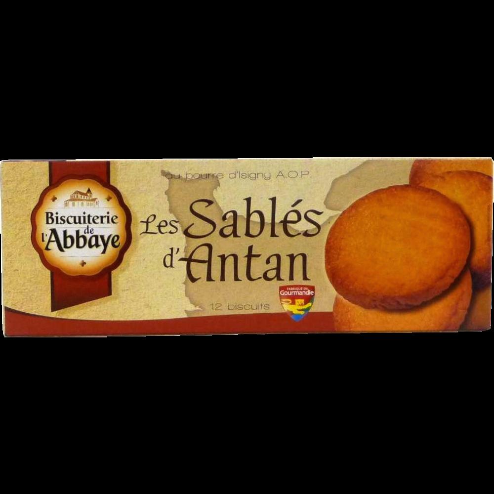 Sablés d'antan, Biscuiterie de l'Abbaye (175 g)