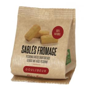 Mini sablés salés fromage, Goulibeur (30 g)
