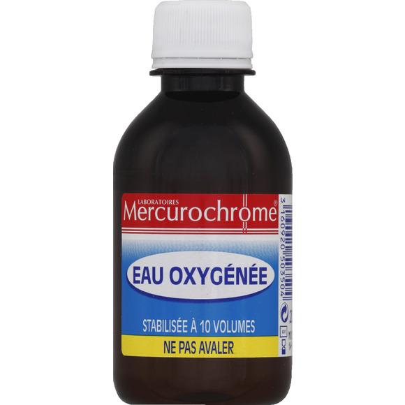 Eau oxygénée, Mercurochrome (200 ml)