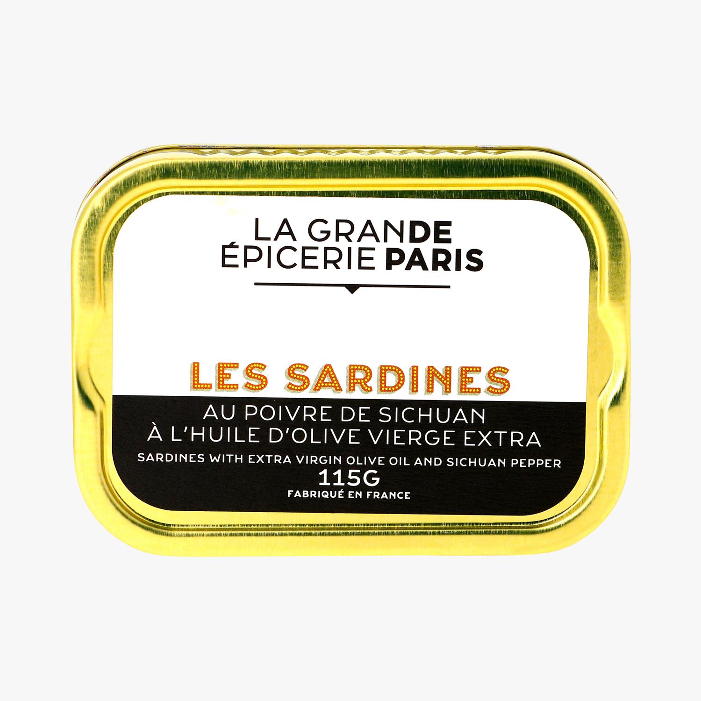 Sardines au poivre de Sichuan, La Grande Epicerie de Paris (115 g)