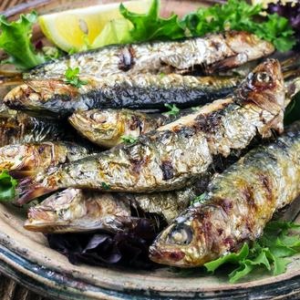 Sardines grillées au BBQ (200 g)