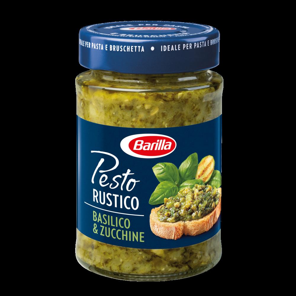 Pesto rustico basilico et zucchine, Barilla (200 g)