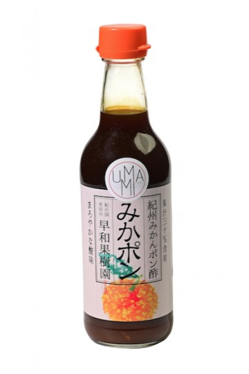 Sauce Ponzu de mikan, mandarine japonaise (360 ml)