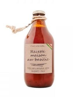 Sauce tomate Recette Maison au Basilic, Perche Ci Credo (330 g)