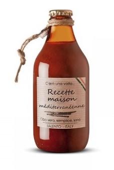"Sauce tomate Recette Maison ""Méditeranéenne"", Perche Ci Credo (330 g)"