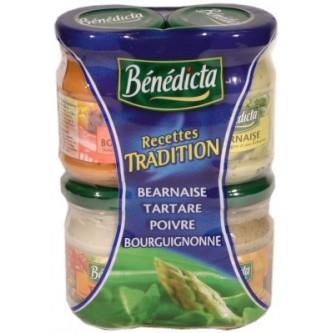 Sauce Party Tradition, Bénédicta (x 4, 330 g)