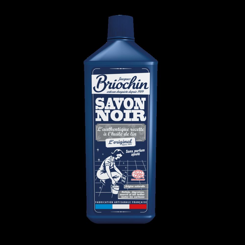 Savon noir liquide à l'huile de lin, Briochin (1 L)