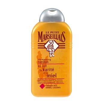 Shampoing cheveux secs au lait de karité et au miel, Le Petit Marseillais (250 ml)