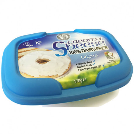 Creamy original à tartiner vegan, Sheese (255 g)