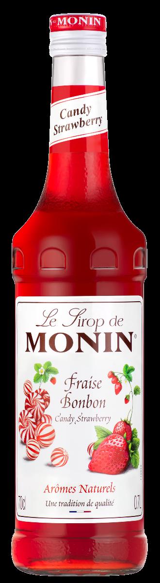 Sirop de Fraise Bonbon, Monin (70 cl)