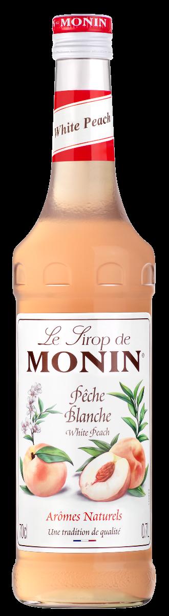 Sirop de Pêche Blanche, Monin (70 cl)