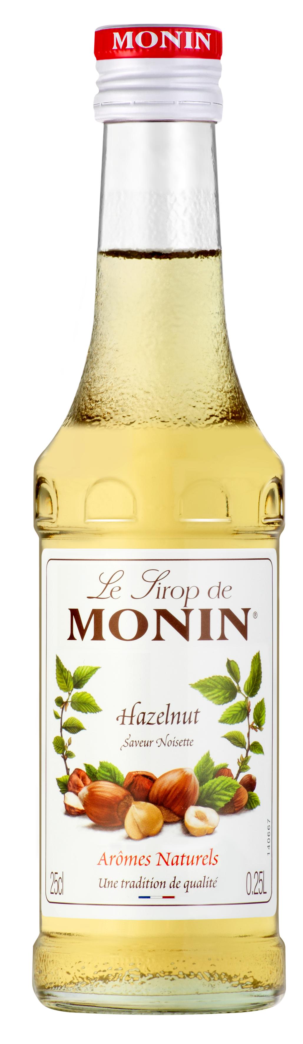 Sirop saveur Noisette Grillée, Monin (25 cl)