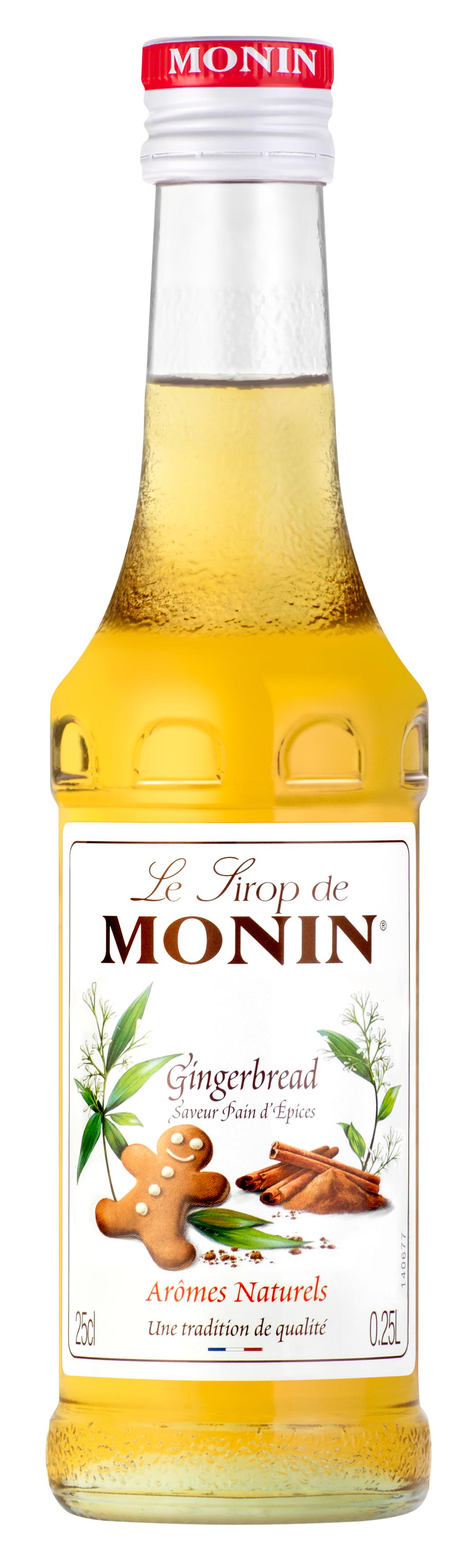 Sirop saveur Pain d'Épices, Monin (25 cl)