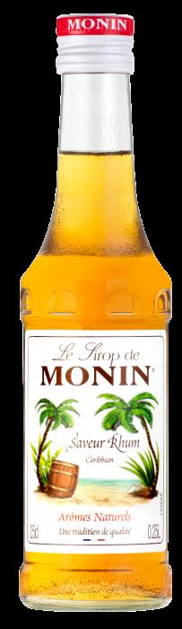 Sirop saveur Rhum, Monin (25 cl)