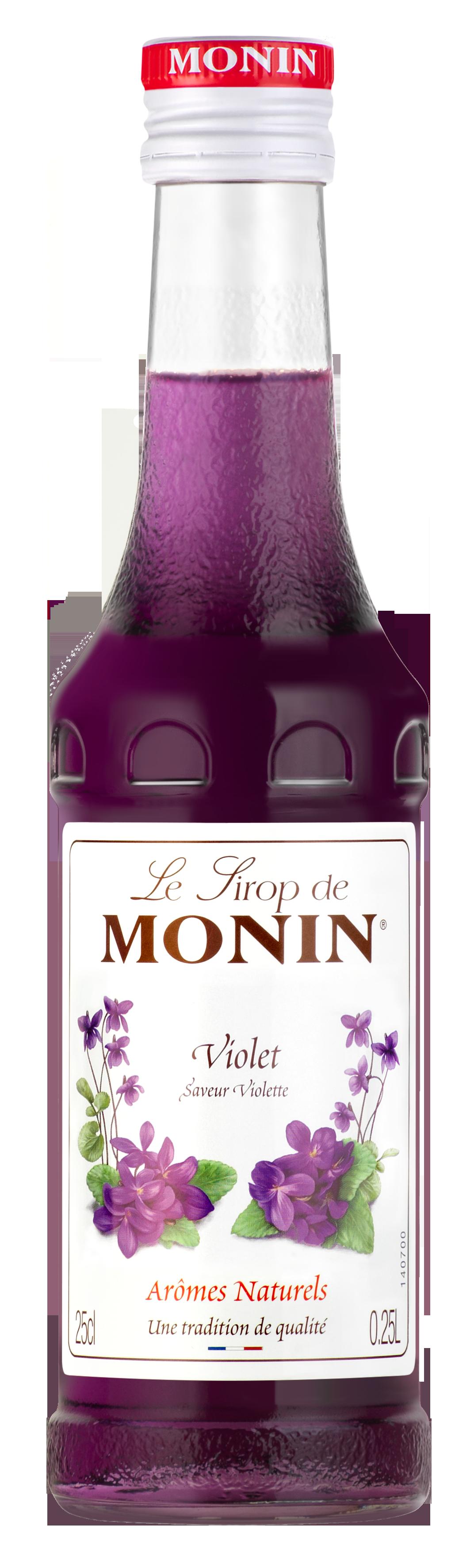 Sirop saveur Violette, Monin (25 cl)