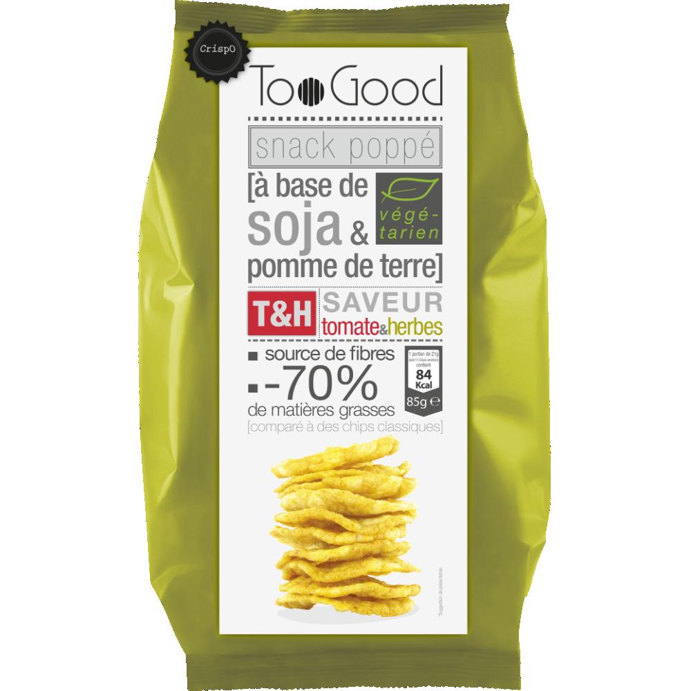 Snack soja tomate et herbes, Too Good (85 g)