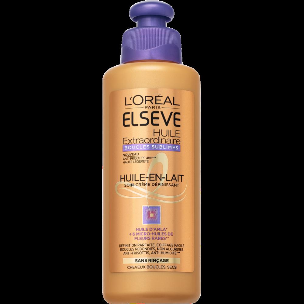 Soin huile extraordinaire boucles sublimes, Elsève (200 ml)
