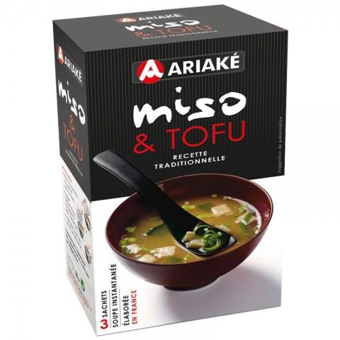Soupe Miso Tofu, Ariake (x 3, 33 g)