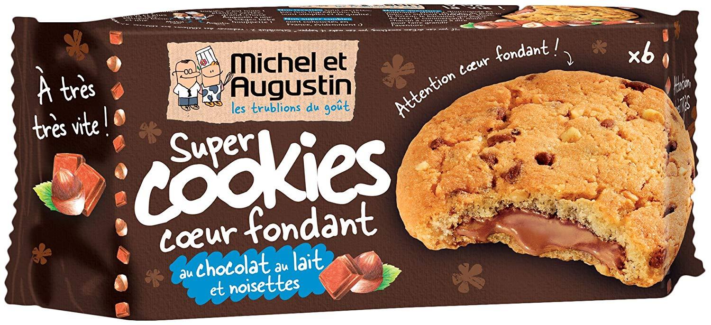 Cookie Fondant Chocolat/Noisette, Michel et Augustin (180 g)